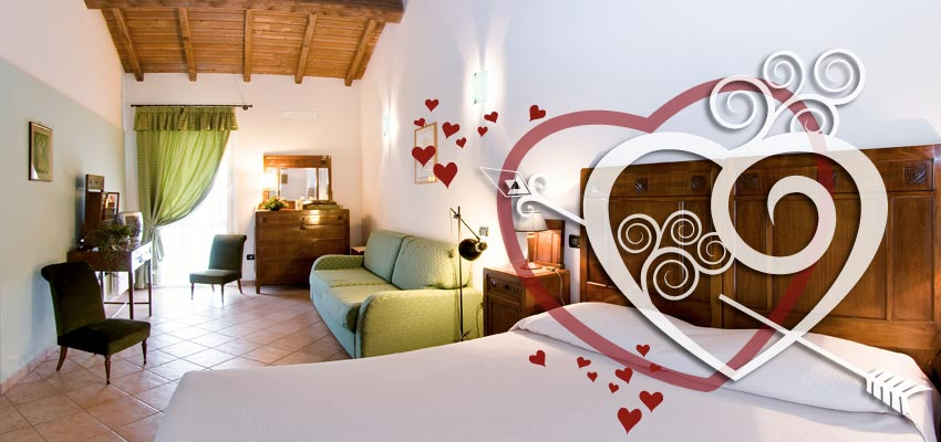 Weekend romantico in agriturismo